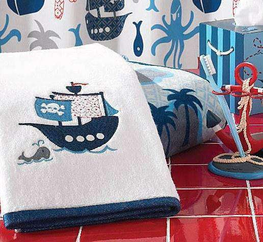 Bambi Embroidered Pirate Towels