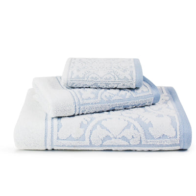 Rosita Luxury Sculpted Egyptian Cotton Towel Set - Luxor Linens