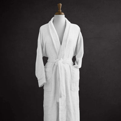 Salerno Egyptian Cotton Luxury Robe - Luxor Linens