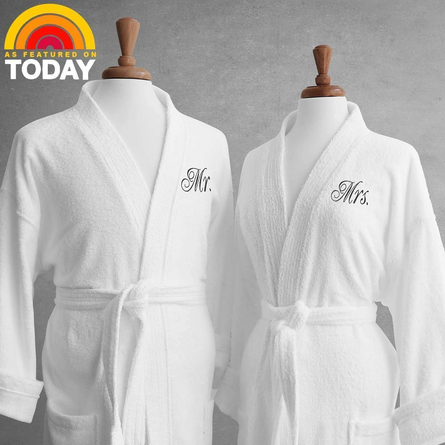 Lakeview Signature Egyptian Cotton Terry Spa Robes - Luxor Linens c53f0822f