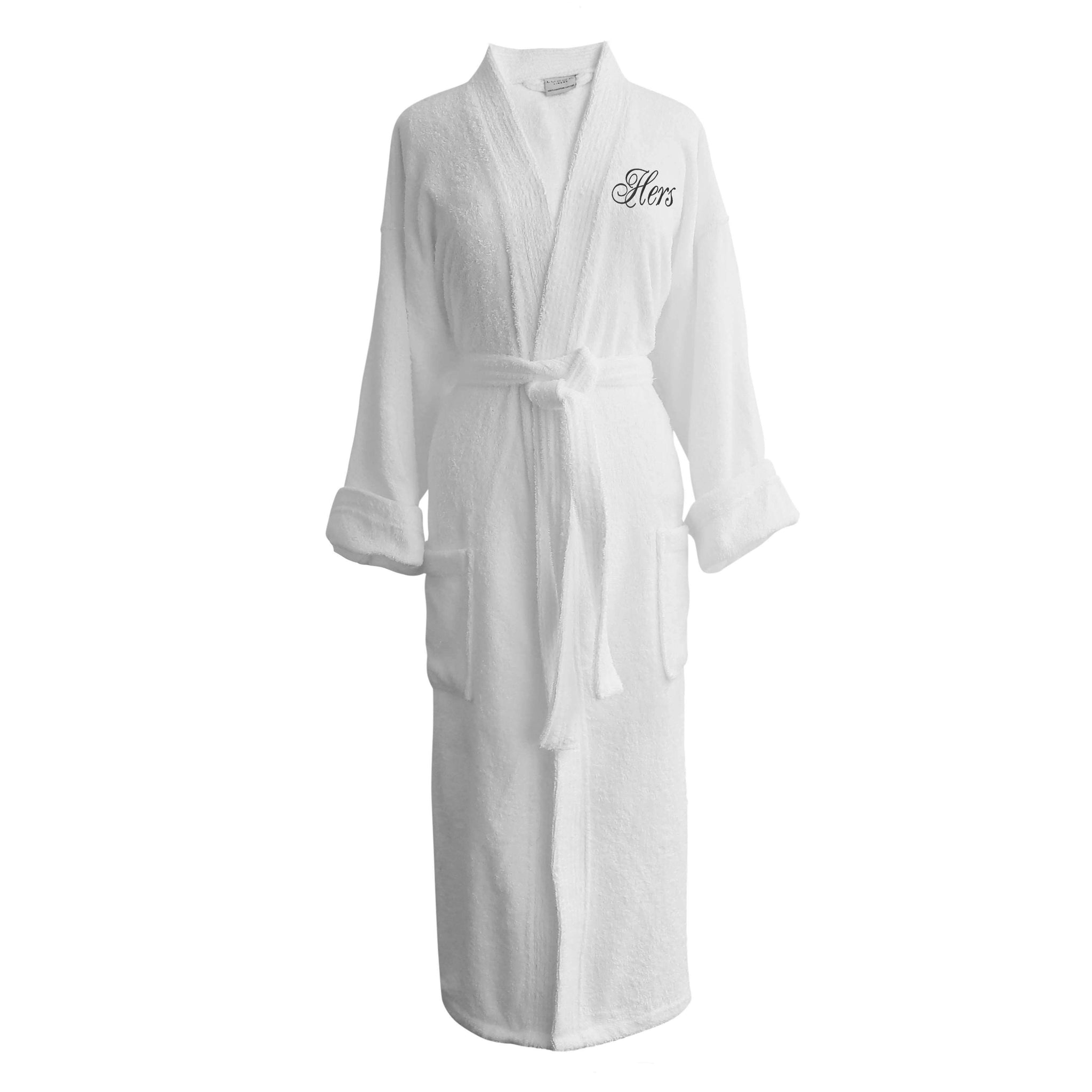 Luxor Linens Lakeview Signature Egyptian Cotton Terry Spa Robes - Luxor  Linens c515c6e3a