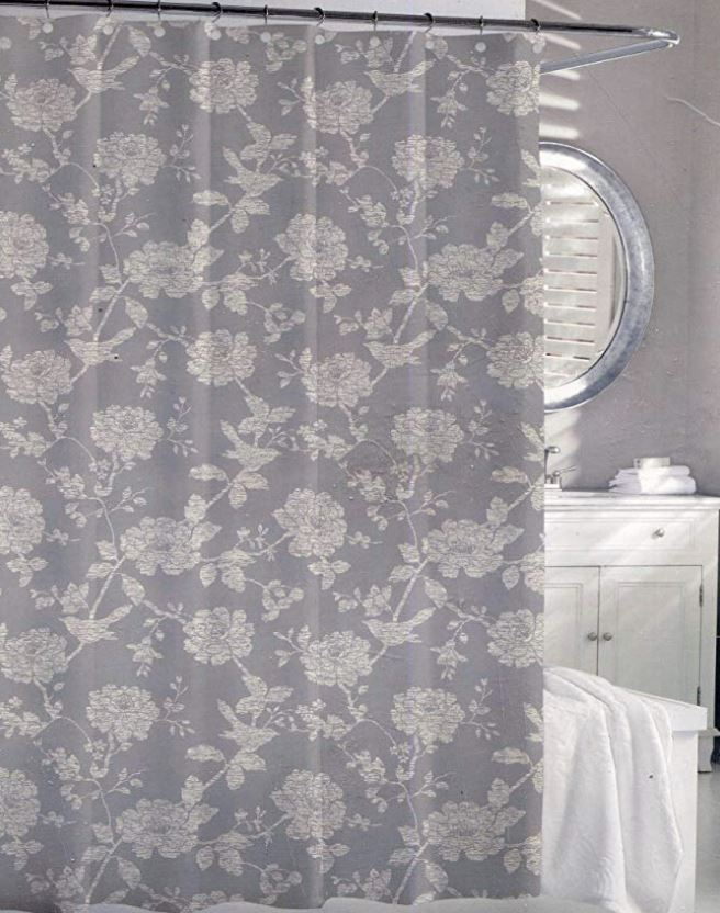 Beatriz Bird Shower Curtain - Luxor Linens