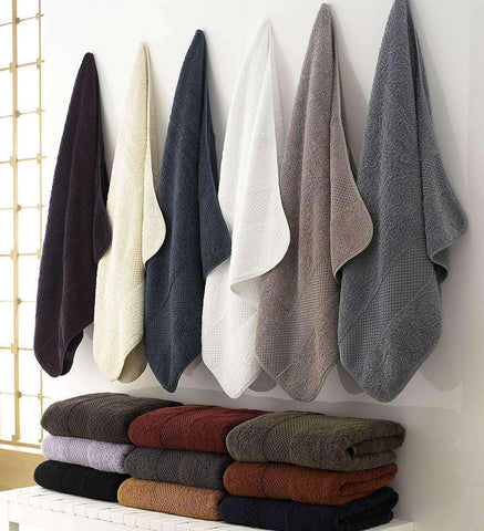 Sylvano 100% Combed Egyptian Cotton Luxury Towel Collection - Luxor Linens
