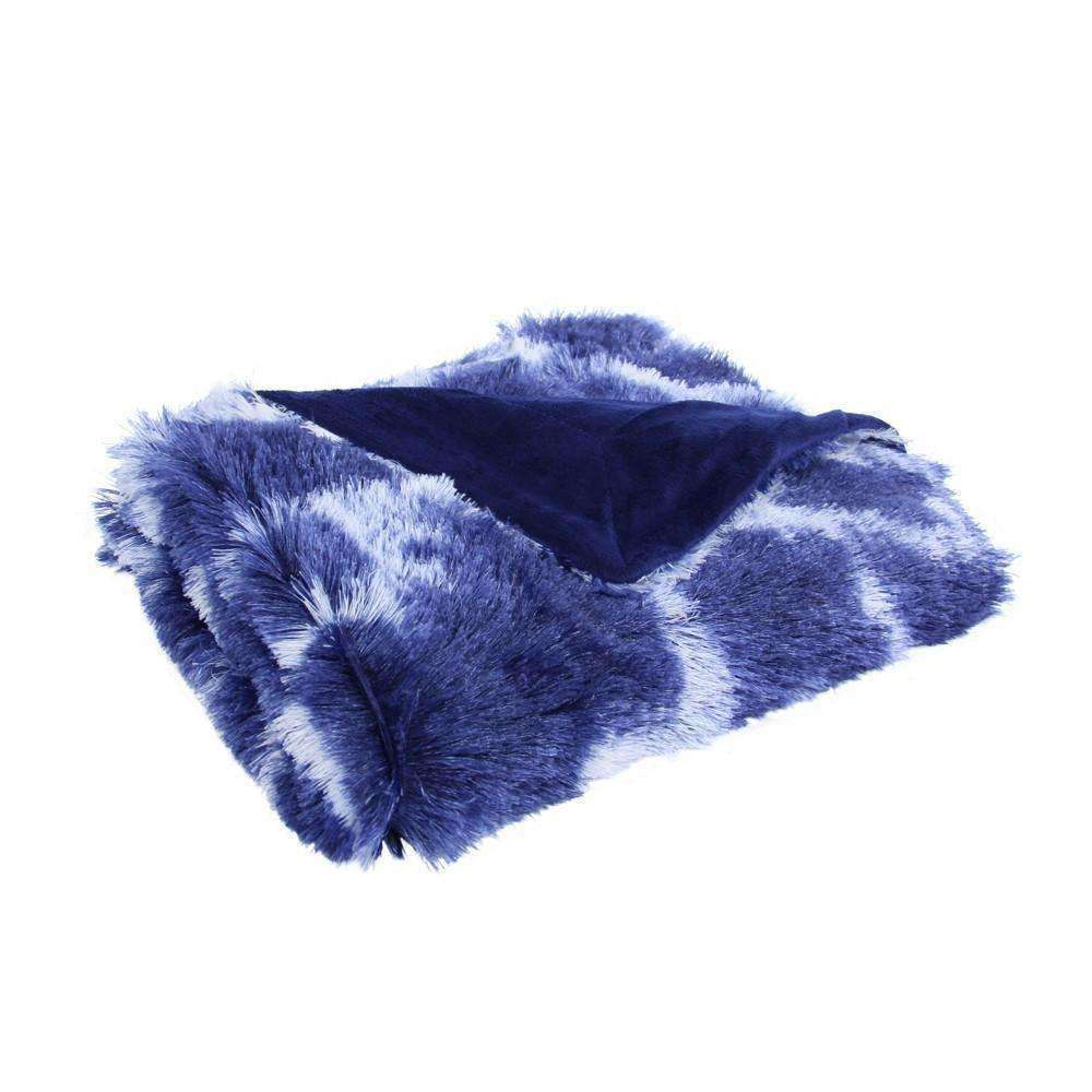 Giovanni Faux Mink Throw - Luxor Linens