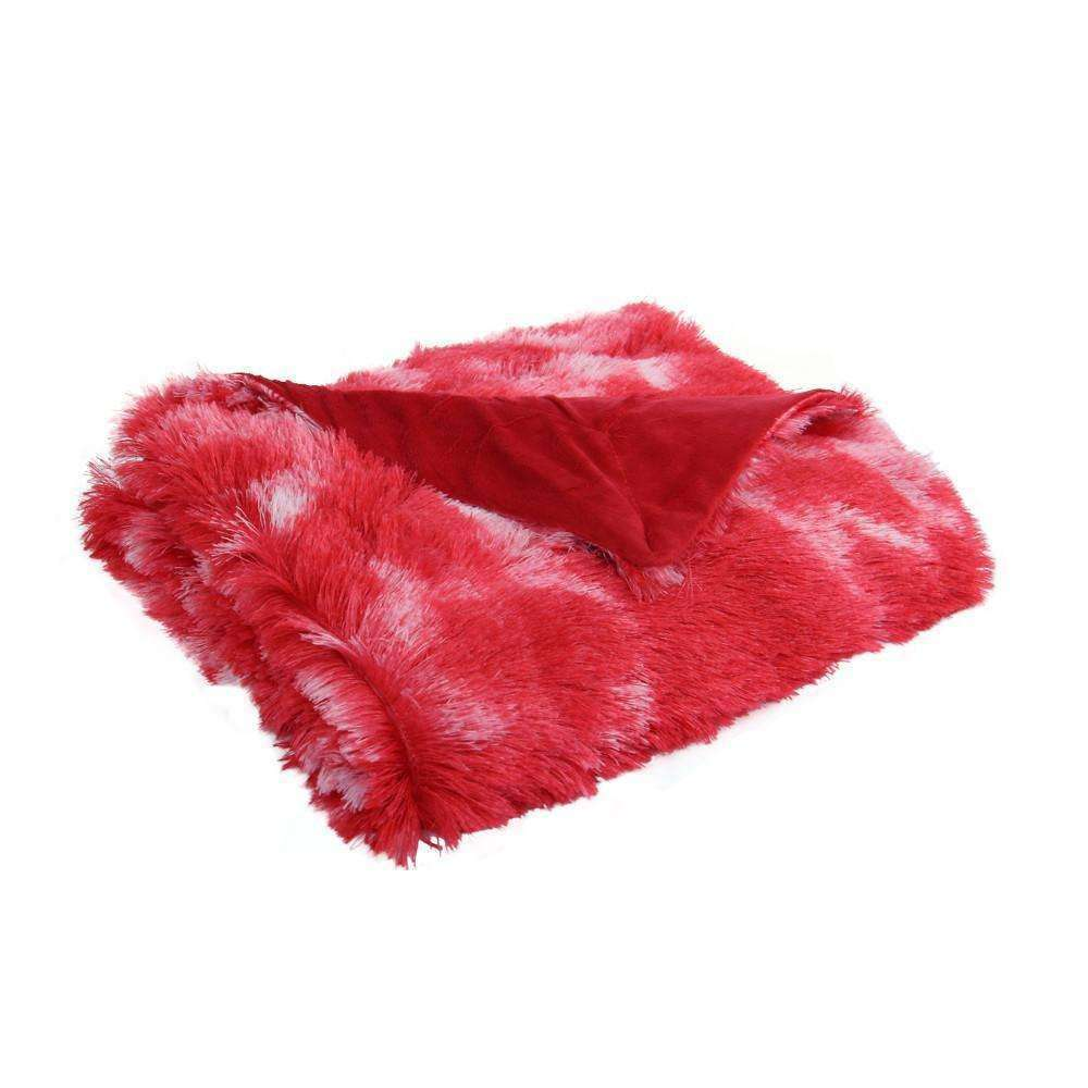 Giovanni Faux Mink Throw