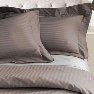 Valentino Stripe 1200 Thread Count Egyptian Cotton Duvet Cover set - Luxor Linens