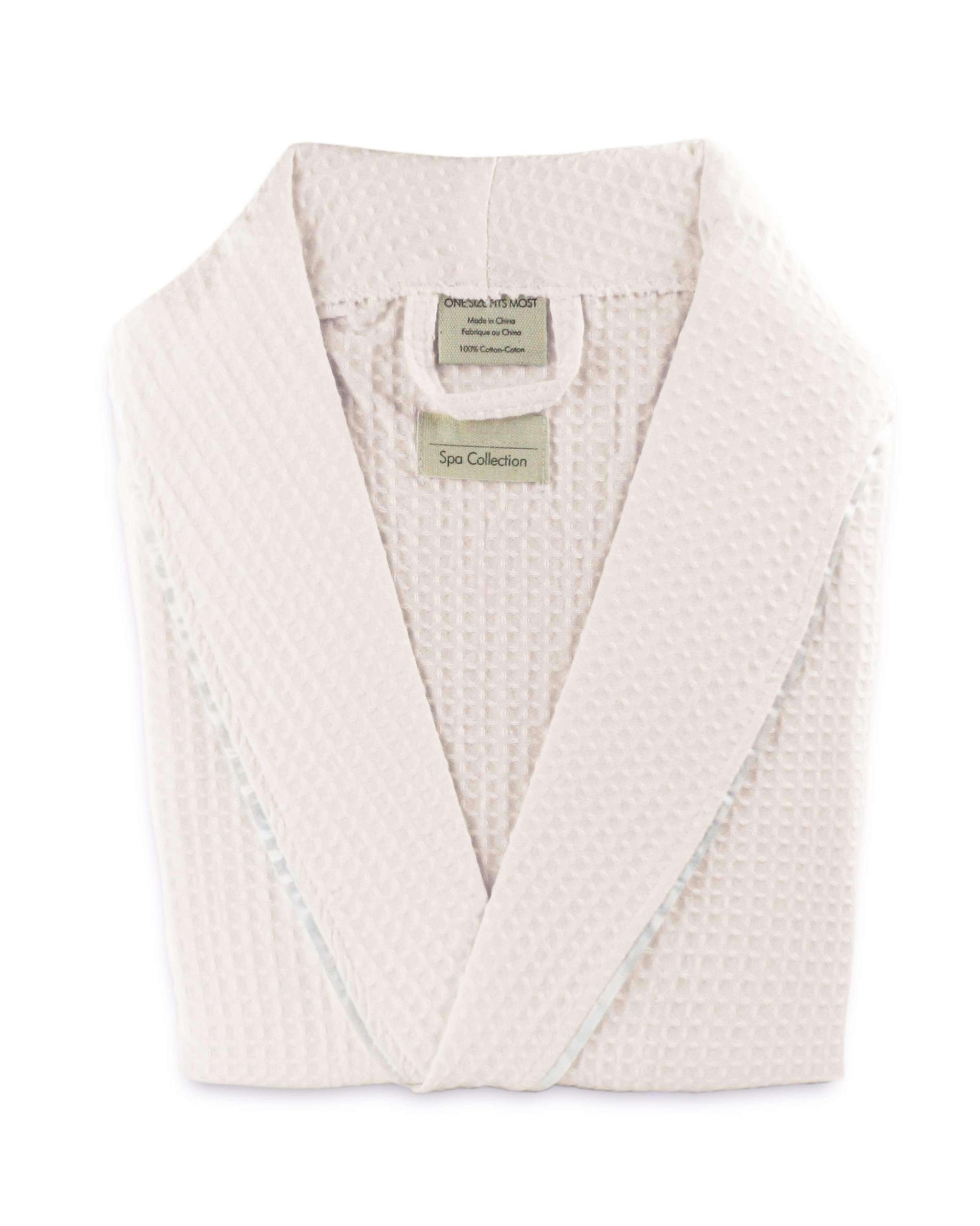 ec74a09beb Valentino Light Weight Egyptian Cotton Waffle Robe - Luxor Linens