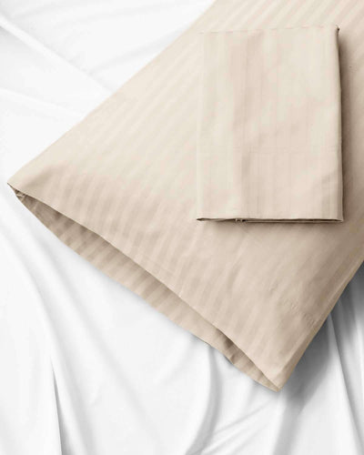Valentino Stripe 1200 Thread Count Egyptian Cotton Pillowcases - Luxor Linens