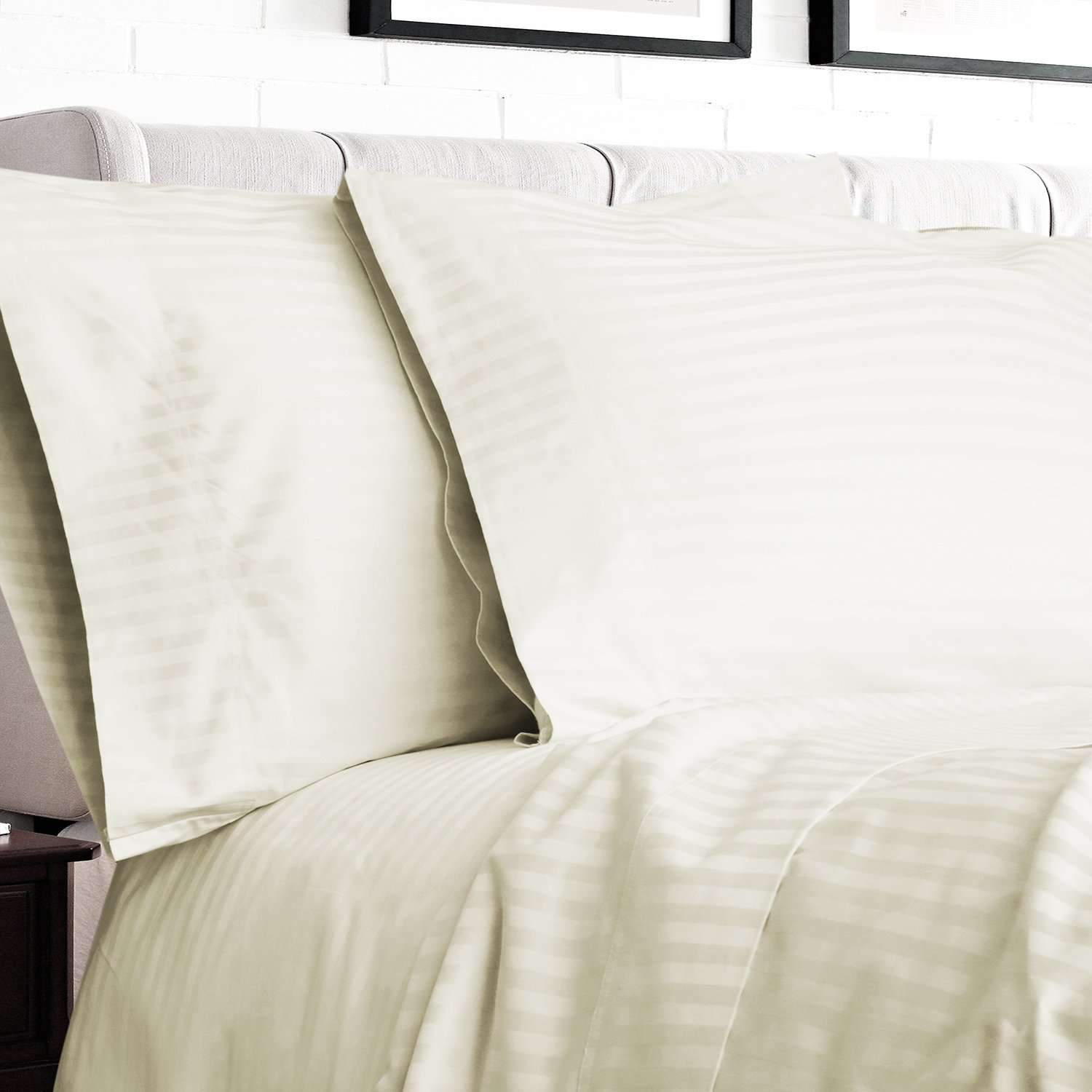 Mercerized Egyptian Cotton Sheet & Duvet Bundle