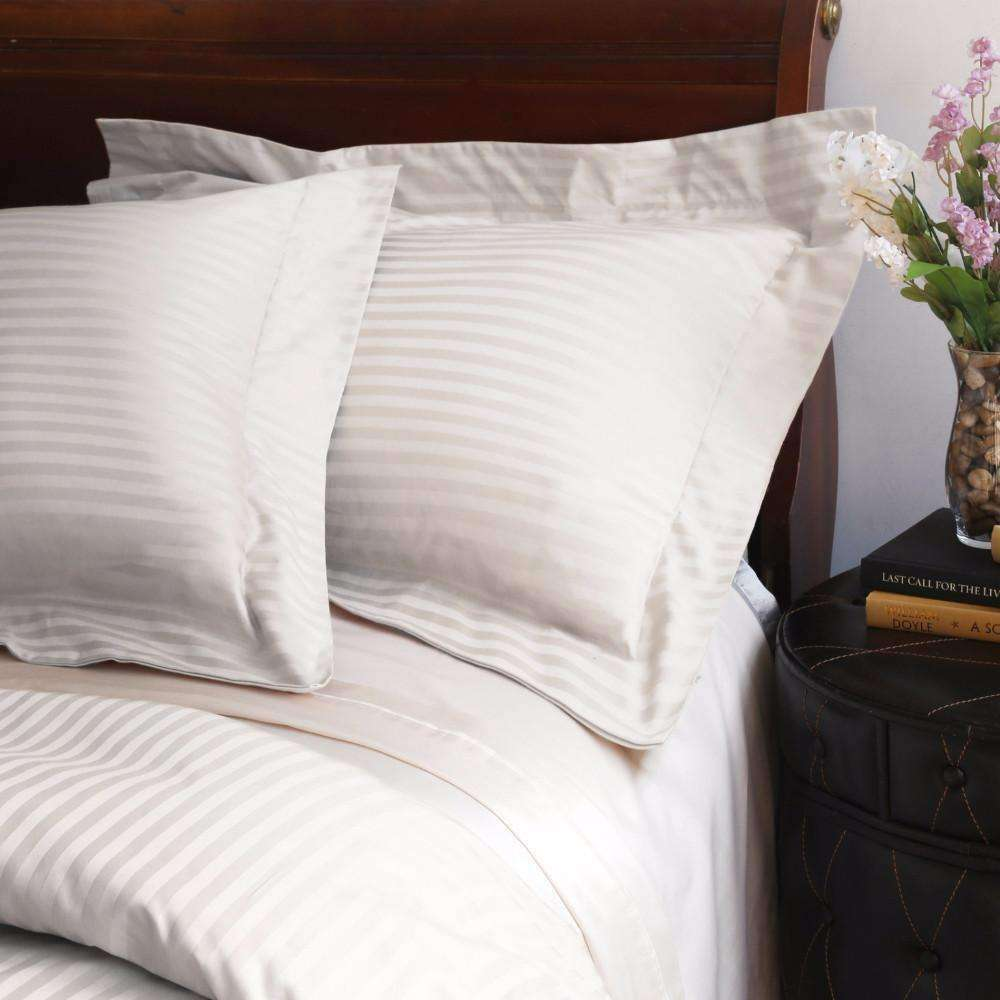 Valentino Striped Egyptian Cotton Duvet Cover 1200 Thread Count