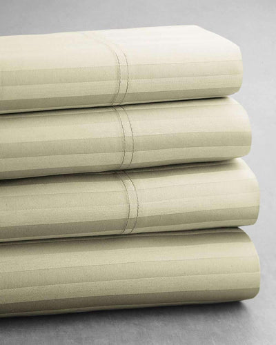 Mercerized Egyptian Cotton Sheet & Duvet Bundle - Luxor Linens
