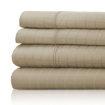 Anina 1000 Thread Count Cotton Soft Sheets with Different Patterns - Luxor Linens