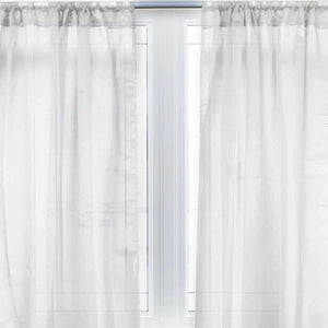 Sheer Window Panels - Luxor Linens