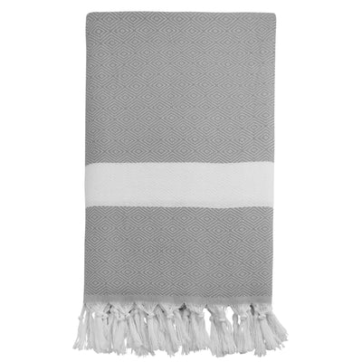 Argyle Knit Peshtemals Turkish Towel