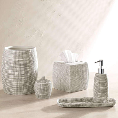 Fresno Stripe Bath Accessories - Luxor Linens