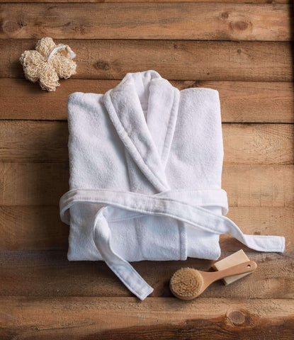 Signature Egyptian Cotton Terry Spa Robes - Luxor Linens