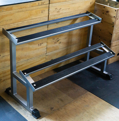 PR 2 Tier Dumbbell Rack