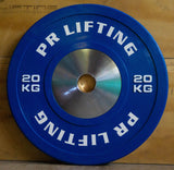 PR Lifting Competition Bar and Bumper Plate Sets