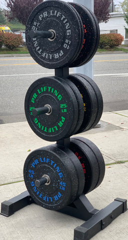 Heavy Duty 3 Tier Bumper Plate Tree
