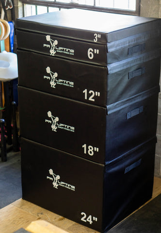 Stacking Foam Plyo Boxes
