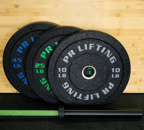 Elite Bar and Bumper Plate Packages