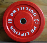 Color Garage Gym Bumper Plates (LB and KG)