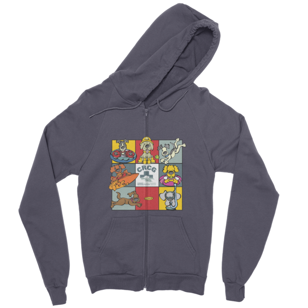CRCG 8 Square A Zip Hoodie - XL, 2XL