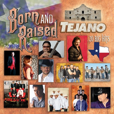 Various Artists - Born And Raised Tejano