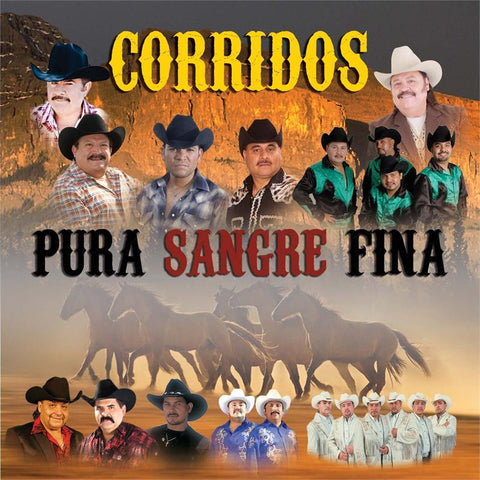 Various Artists - Corridos, Pura Sangre Fina