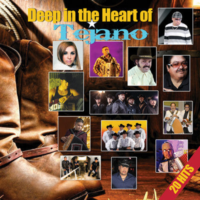 Various Artists - Deep in the Heart of Tejano