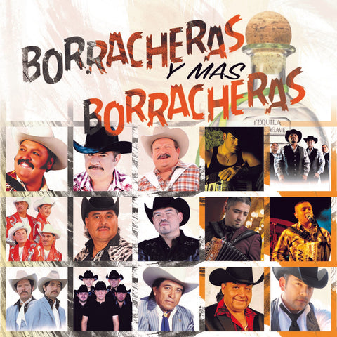Borracheras Y Mas Borracheras - Various Artists