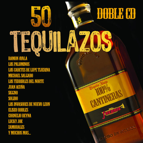 Various Artists - 50 Tequilazos