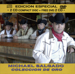 Michael Salgado - Coleccion De Oro CD/DVD Combo