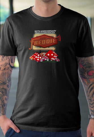 Freddie Records Vegas Sign Commemorative T-Shirt