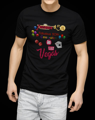 Freddie Records Fabulous 50th Celebration in Las Vegas Commemorative T-Shirt