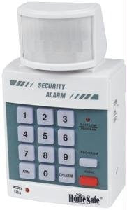 Motion Detector with Security Alarm/Chime