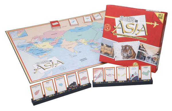 10 Days in Asia Board Game