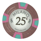 Milano 10 Gram Clay - .25¢  (cent)