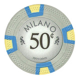 Milano 10 Gram Clay - .50¢  (cent)