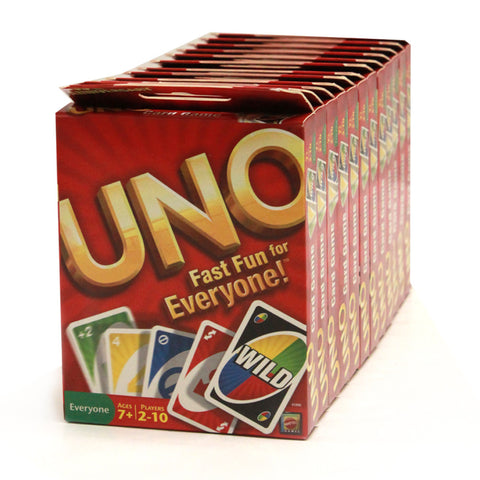 UNO Card Game - 12 packs