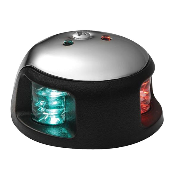 Attwood 3500 Series 1-Mile LED Bi-Color Red/Green Combo Sidelight - 12V - Stainl
