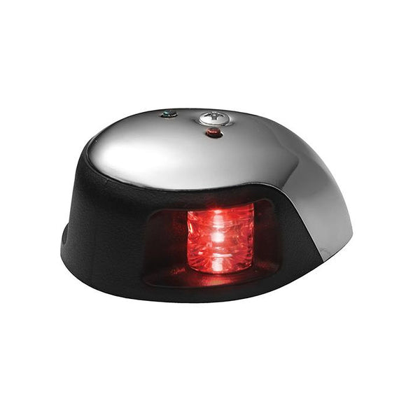 Attwood 3500 Series 1-Mile LED Red Sidelight - 12V - Stainless Steel Housing - 3530R7