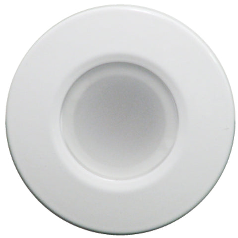Lumitec Orbit - Flush Mount Down Light - White Finish - White Non Dimming [112523]