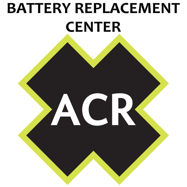 ACR FBRS 2883 Battery Replacement Service - PLB-350 B SARLink? - 2883.91