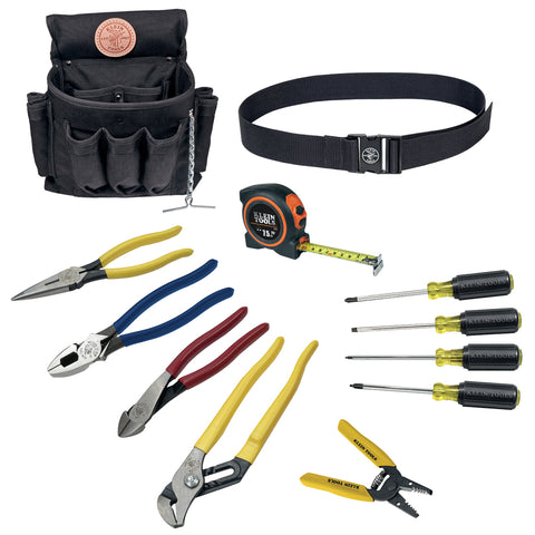 Klein Tools 12-Piece Electrician Tool Set - 92003