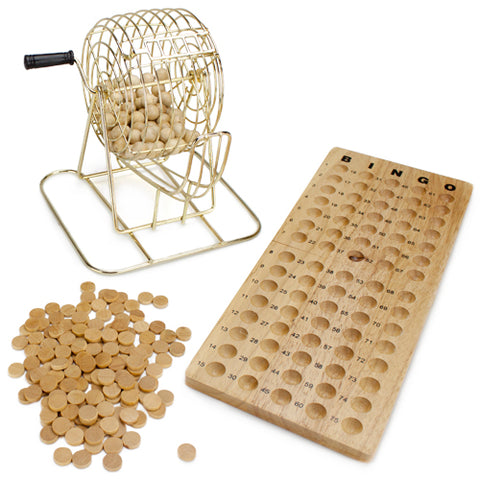 Wooden Bingo Game