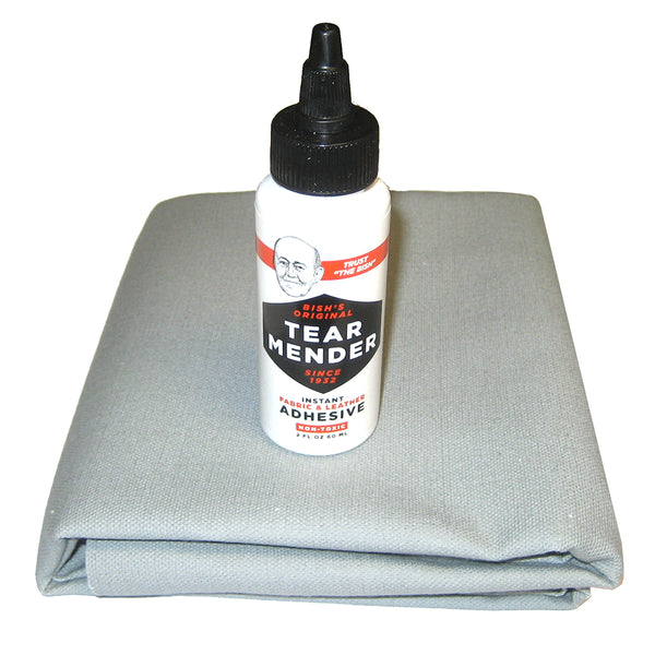 Attwood Boat Cover Repair Kit - Grey - 10556-5