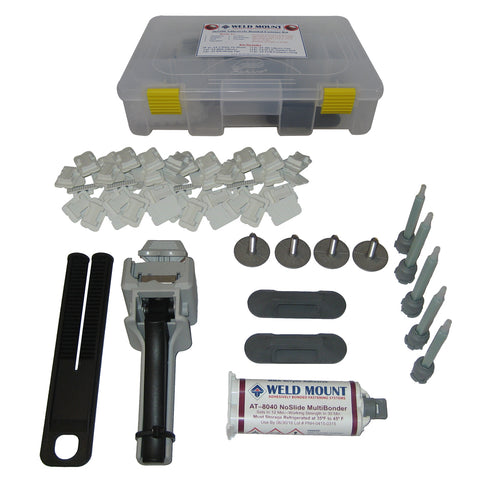 Weld Mount Adhesively Bonded Fastener Kit w/AT 8040 Adhesive - 65100
