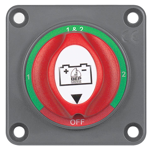 BEP Panel-Mounted Battery Mini Selector Switch - 701S-PM