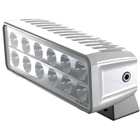 Lumitec Maxillumeh60 - Trunnion Mount Flood Light - White Dimming - White Housing [101334]